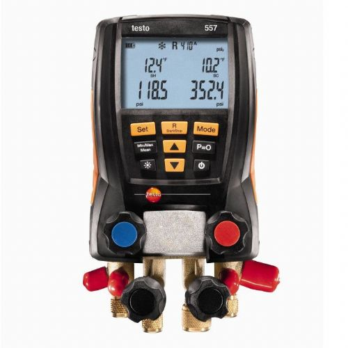 Testo 557 Digital Refrigeration Manifold 0563 1558